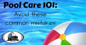 Pool Care 101 - Santa Clarita